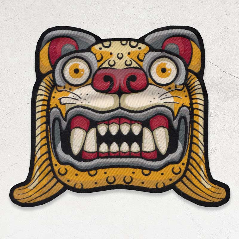 woven patch example